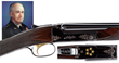 Winchester Model 21 Custom Shotgun Presented to Five Star General and First Chairman of the Joint Chiefs of Staff, Omar Bradley, estimated at $100,000-200,000.
