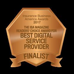 Insurance Business Awards Digital Provider Finalist 2017