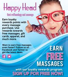 Loyalty Rewards Program at Happy Head Massage