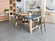 Bonsoni Cayman Zinc Dining Table and Chairs