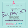 Announcing: Breast Reconstruction Surgeon Dr. Constance M Chen launches a Decorate-a-Bra campaign for Breast Reconstruction Awareness (BRA) Day