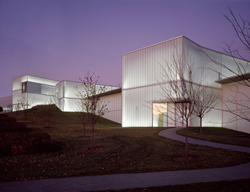 Bloch Building - Nelson-Atkins Museum of Art, Kansas City, MO by Steven Holl Architects and BNIM Architects. Photo by Roland Halbe.