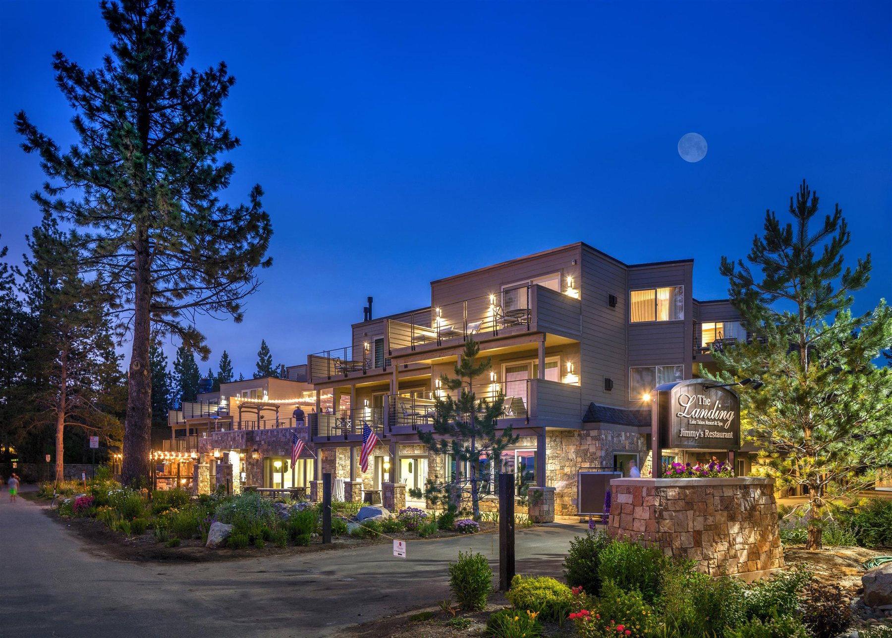 The Landing Resort  Spa in Lake Tahoe Offers Celebrity