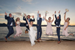 Couples love getting married at The Landing Resort & Spa as the stunning Lake Tahoe setting provides for terrific photography and the resort hosts events and guests in style (photo by Indigo Photograp