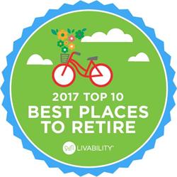 Livability com Names the 10 Best Places to Retire, 2017