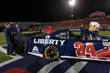 NASCAR driver William Byron unveils new No. 24 Liberty University car at LU Homecoming