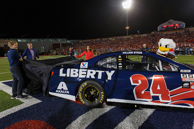 What Car Will William Byron Drive