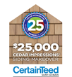Enter to Win the $25,000 CertainTeed Siding Contest