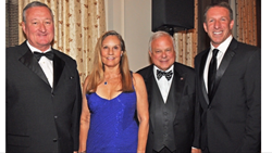 Jim Kenney, Mayor of Philadelphia; Dottie Giordano; Philly POPS® President and CEO, Frank Giordano; Philly POPS® Chairman of the Board and CEO of LCG, Gary Frank