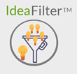 Idea Filter Is an Agile Market Research Tool to Drill Down on the Final Set of Ideas and Concepts