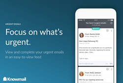 Knowmail mobile app