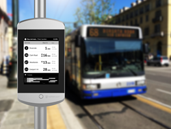 Gruppo Torinese Trasporti S.p.A. (GTT) selects Papercast solar powered e-paper digital bus stop displays