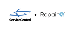 image of servicecentral technologies and repairq logos
