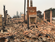 Pulido~Walker Estate in ruin after apocalyptic Wine Country Fires.