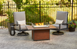Kenwood Chat Gas Fire Pit Table