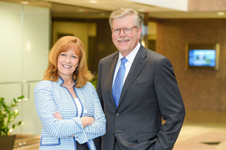 Beth Sweeney and Mike Milby: President and CEO, respectively, of Ratliff & Taylor.