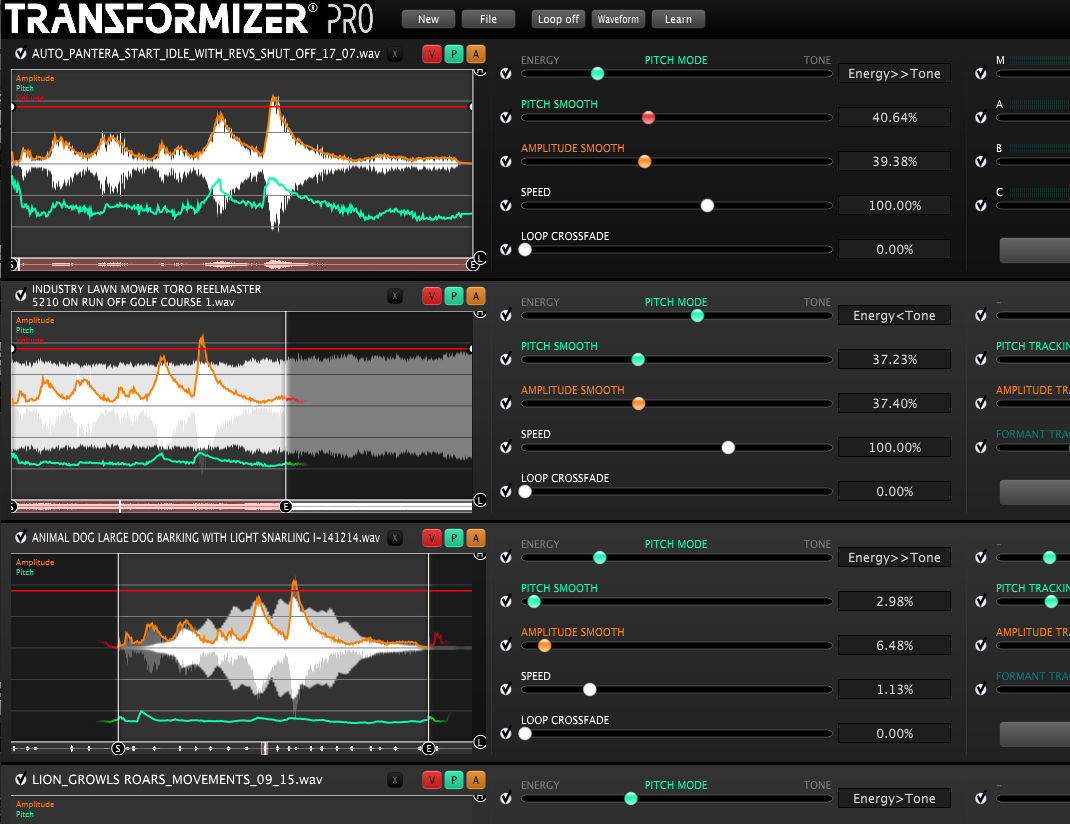 Transformizer Pro Launch Of A Sound Idea Creation And