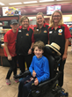 MDA Ambassador Quinn visits Casey's Store 3513 in Bell Plaine, Iowa on a family road trip.