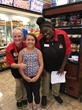 MDA Ambassador Amanda with Casey's employees at store location 1441 in Marshalltown, Iowa.