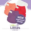 Cotton Babies Introduces New & Improved Newborn Cloth Diaper
