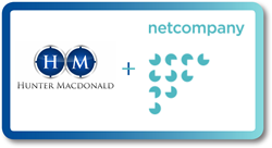 Hunter Macdonald Netcompany Combined Logo