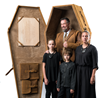 Ostensibly Healthy Owner of Saddleback Leather Company Builds His Own Leather Coffin ~45 Years Early