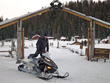 A hot spot for snowmobilers near Yellowstone and Jackson Hole, Brooks Lake Lodge boasts the finest sleds – plus two million acres of snowy terrain for winter guests to explore.