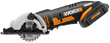 New WORX 3-3/8 Inch Cordless Compact Circular Saw Is Portable, Versatile and Maneuverable