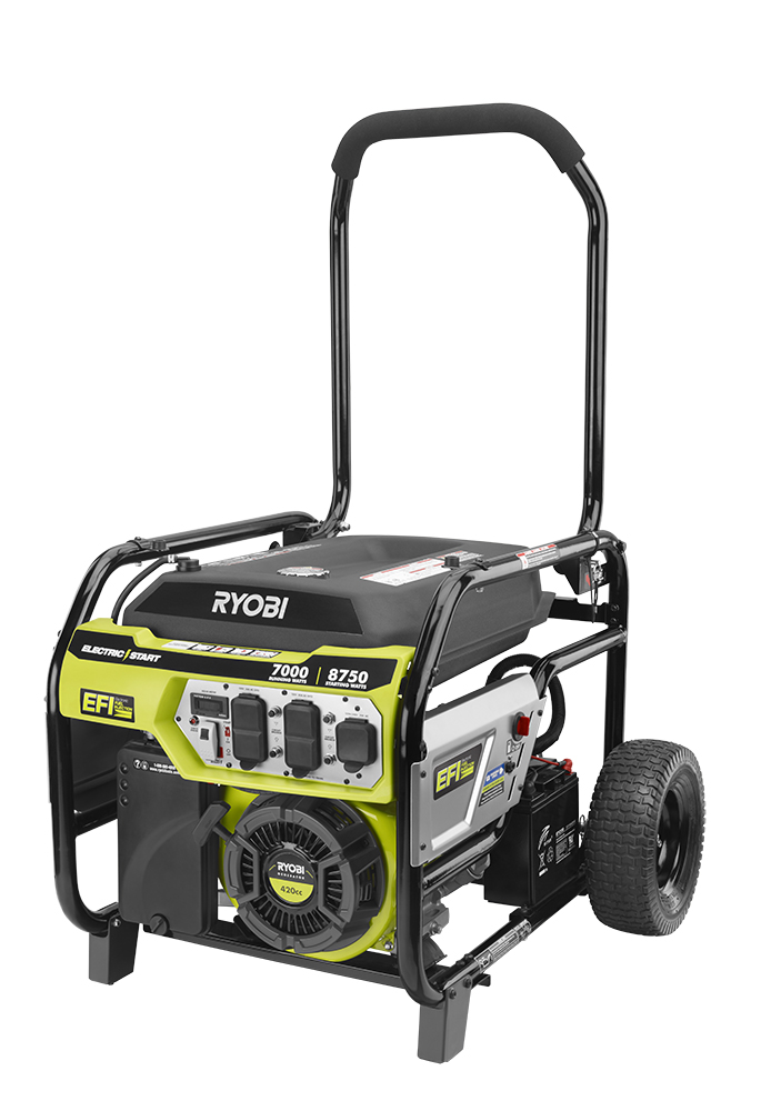 Tti Introduces Portable Generators With Efi Technology