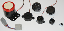 transducers, alarms, indicators, annunciators, audible devices, audible alarms, audible indicators, audible signal devices, speakers, microphones, audio transducers, piezo audio indicators, surface mount devices, notifiers, electret microphones, piezo cer