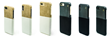 The POCKET CASE fits multiple iPhone sizes and comes in two colors, mocha (tan) and obsidian (black)