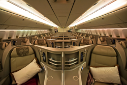 Luxury and Comfy Business Class Seats