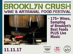 New York Wine Events, wine tasting, Fall wine tasting, Brooklyn wine festival, Brooklyn wine and food festival, artisanal food and wine, NY Wine Events