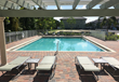 Hampton Cove has announced the opening of its new pool cabana.