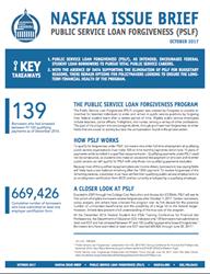 NASFAA Public Service Loan Forgiveness Issue Brief