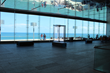 Boon Edam revolving doors enhance sight lines to the sea