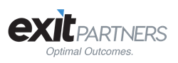 ExitPartners logo with tagline, PNG