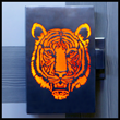 Illuminated Tiger Door Handle the Latest in This Collection of Custom Door Pulls by Martin Pierce