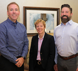 Chris Hyatt, Janet Lillevold, Ryan Novaczyk of New Perspective Senior Living