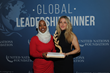 U.S. Youth Observer to the United Nations Munira Khalif and Singer, Songwriter, and Record Producer Ellie Goulding at the 2017 Global Leadership Dinner