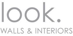 look. Walls & Interiors logo