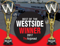 2017 Best of the Westside Winner For Best Auto Dealership Repair Service & Best Auto Dealer (New Cars).