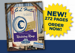 G.L. Huyett's new 272 page Retaining Rings catalog is available in print and online. Visit huyett.com/catalogs to download or request your copy today.