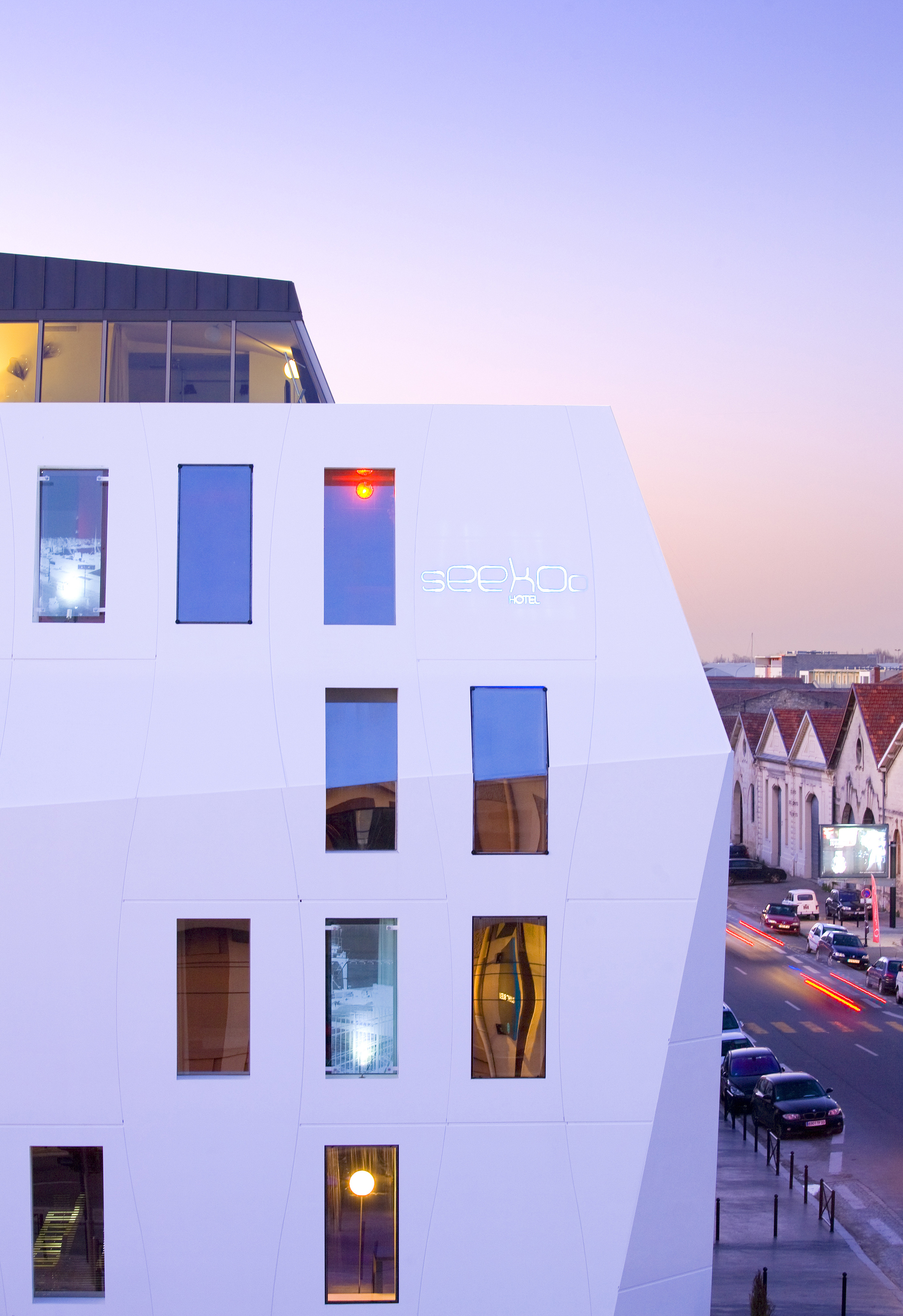 Dupont introduces new corian exterior cladding for modern memorable fa ades - Hotel seekoo bordeaux ...
