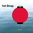 1st Drop is a safety device easily deployed to alert individuals of water levels during flooding