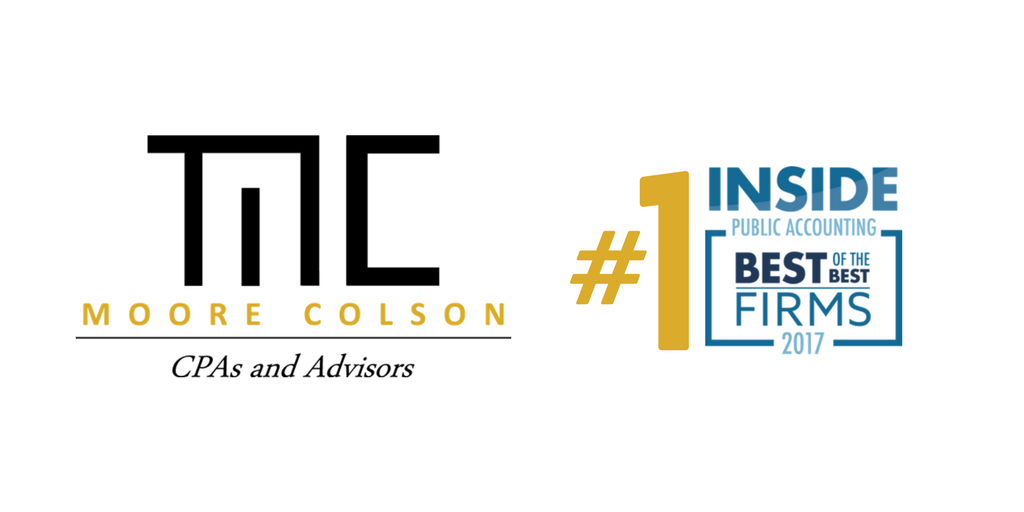 Atlanta Firm Moore Colson Ranks Number One among Top 50 ...