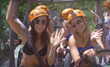 Denver Broncos Cheerleaders Visit Xcaret Parks in Riviera Maya, Mexico During Their Annual Calendar Shoot