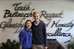 Lexington Christian Academy students Eunice Lee and Nathanael Dean announced as National Merit Scholarship Program Commended students