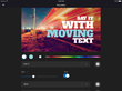 WeVideo mobile iOS video editing app adds pro-quality motion titles and graphics