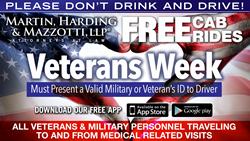 Veteran's Cab Ride Home Program